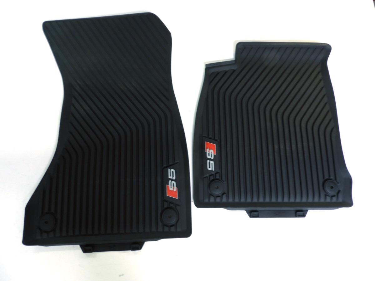 Lengenfelder Gummimatten für Audi A5 S5 RS5 8T Coupe Cabrio BEIGE Fußmatten